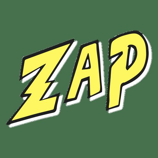 Zap illustration.