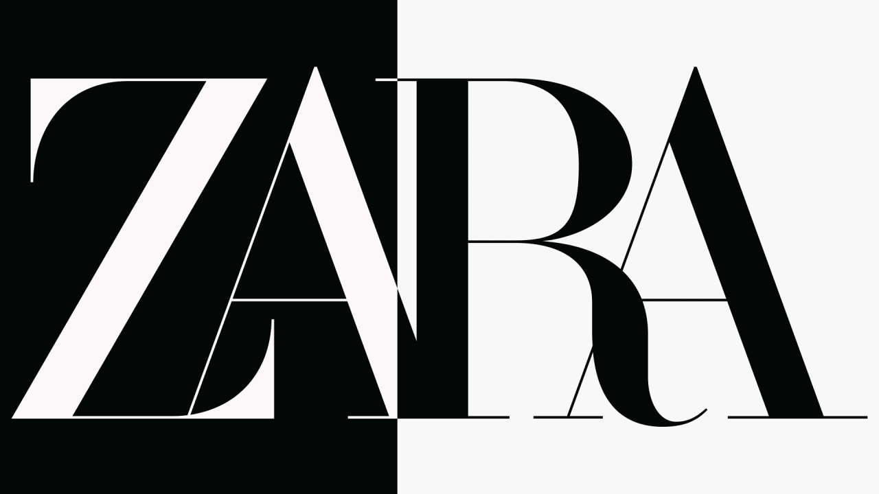 Zara has a new logo, and reviews are mixed.