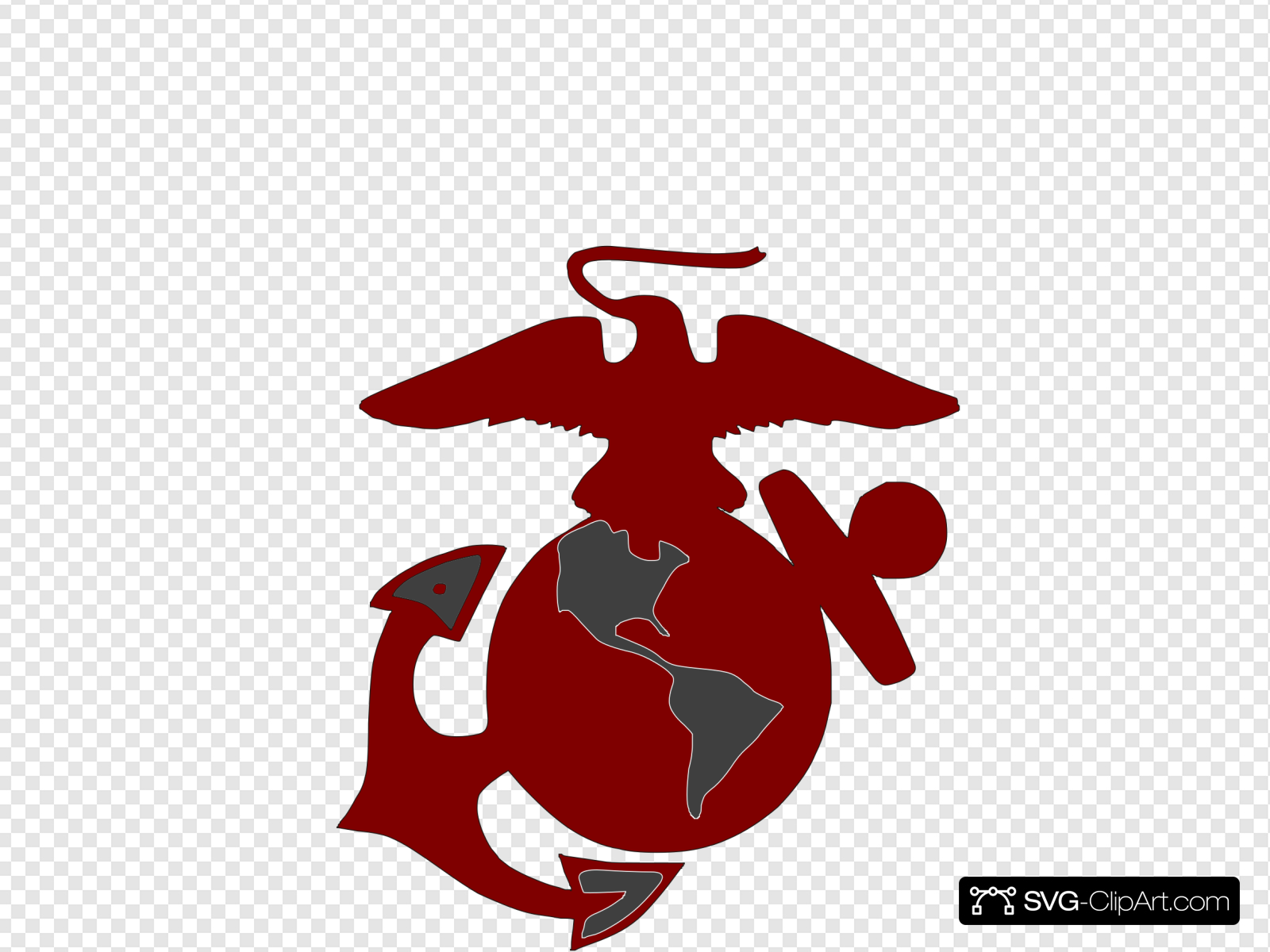 Marines Logo2 Clip art, Icon and SVG.