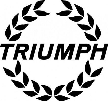 Triumph logo2 Clipart Picture Free Download.