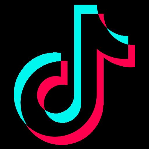 Logo, social media, tiktok icon.