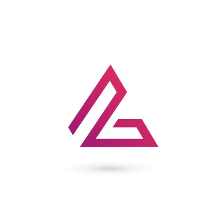 Letter L logo icon design template elements:: tasmeemME.com.