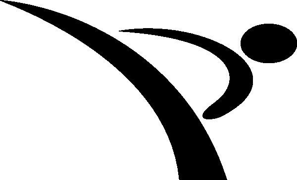 Karate Logos Clipart.