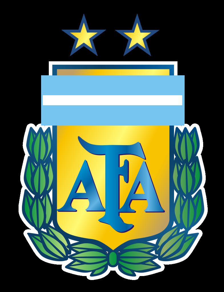 Es el logo de Argentina futbol equipo. Es azul, blanco.