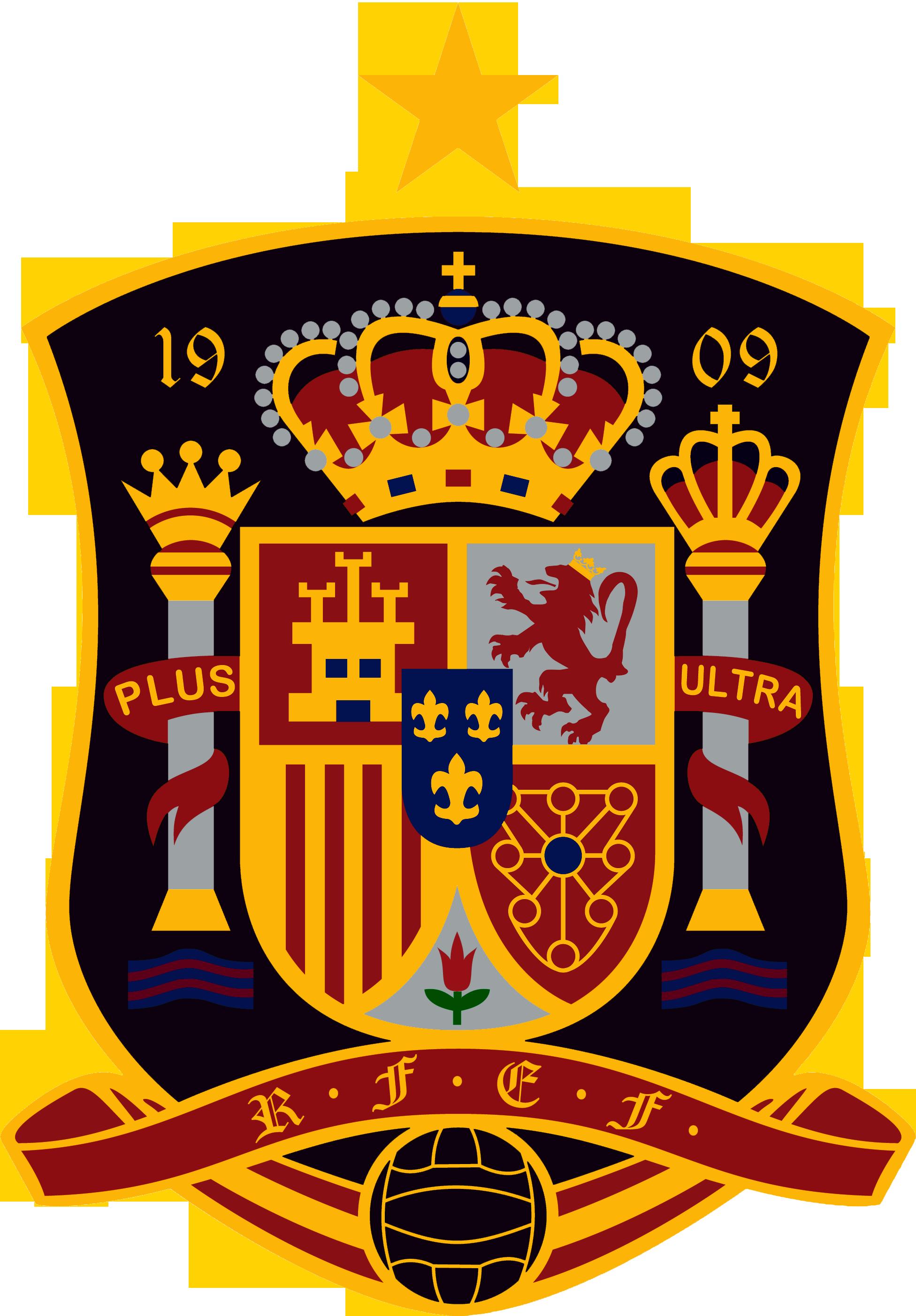Spain National Football Team Logo [PDF] Vector EPS Free.