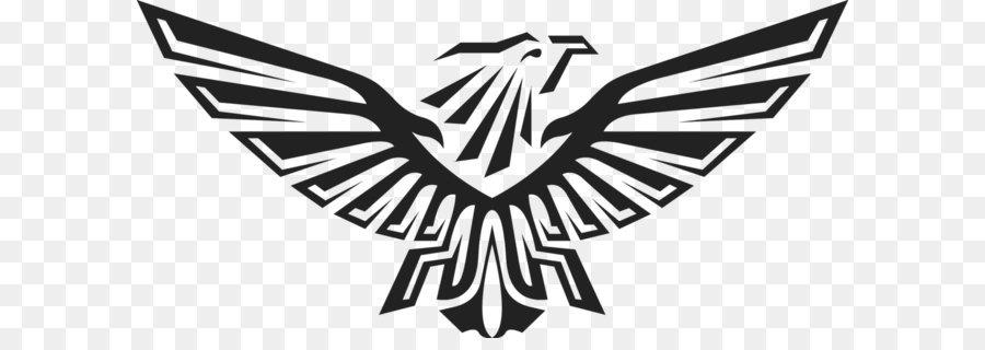 Download Free png Adler Clip art Eagle schwarz logo PNG Bild.