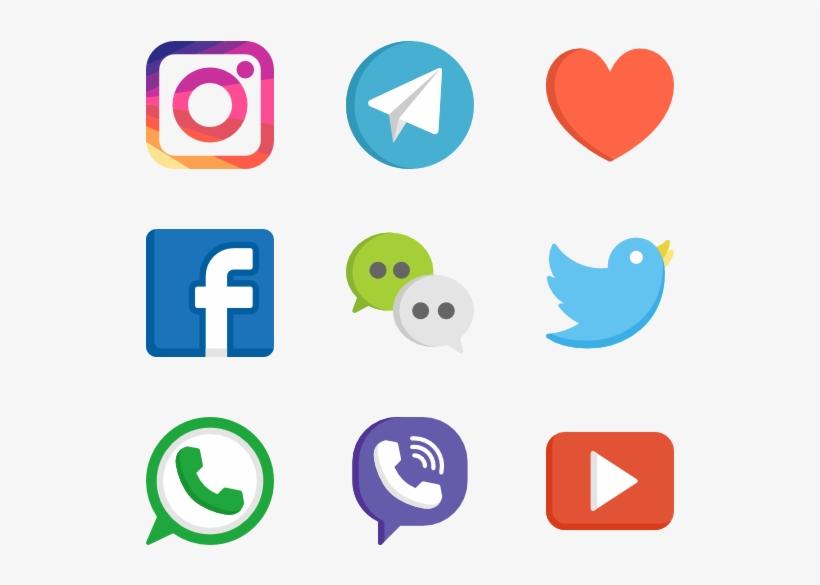Social Media Logos Png Web Design 50 Free Icons Svg.