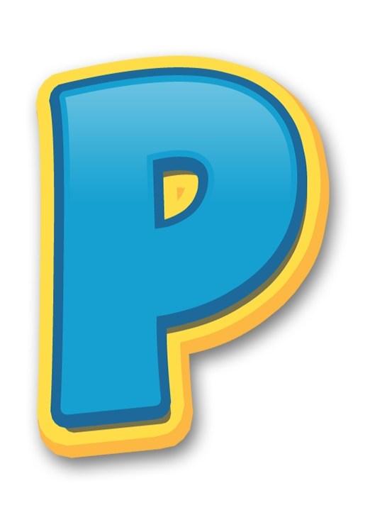 Letras y Numeros de Paw Patrol con LOGO para editar y.