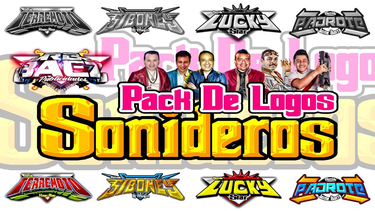 2D0 PACK DE LOGOS SONIDEROS (PRODUCCIONES BAEZ).