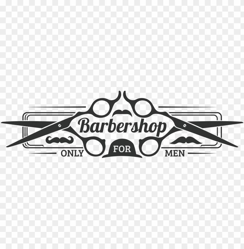 clip art barbearia masculino logotipo png.