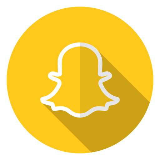 Logotipo do ícone do Snapchat.