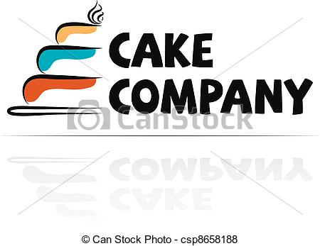 Clipart Vector of Logotype for restaurant, Menu.