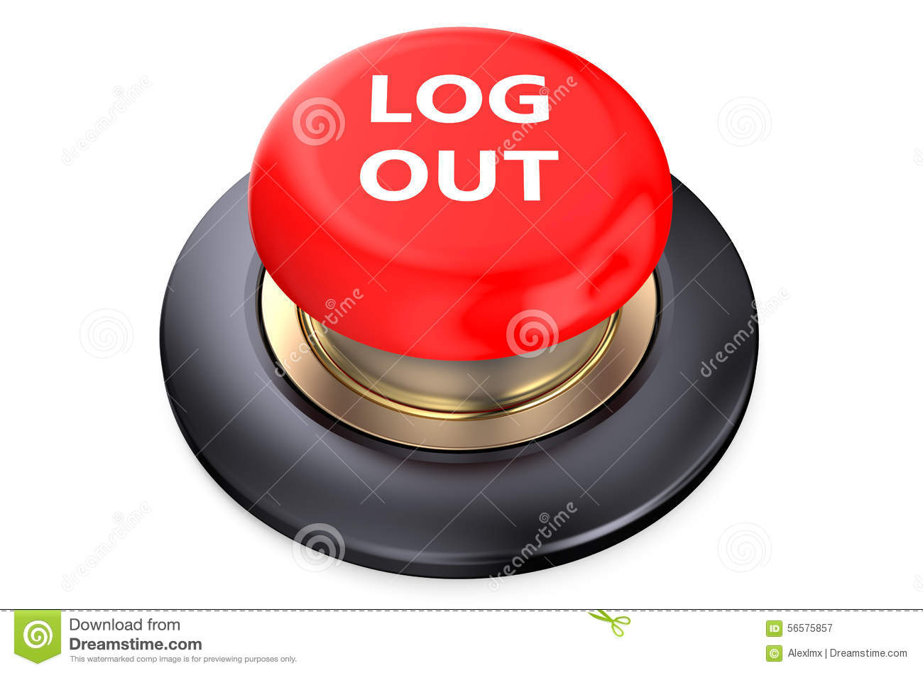 Logout Stock Illustrations.