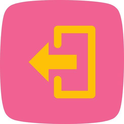 Logout Vector Icon.