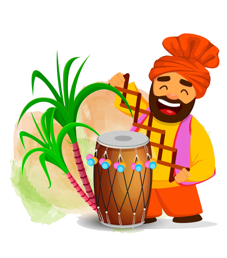 Lohri PNG Free Background.