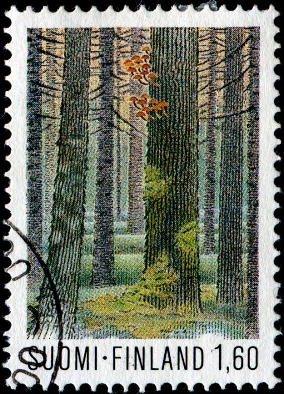 Forest / Forests / Ecosystems on Stamps.