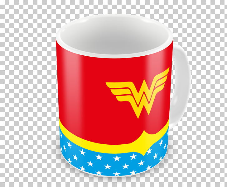 Wonder Woman Mug Brazil Porcelain Lojas Americanas, Wonder.