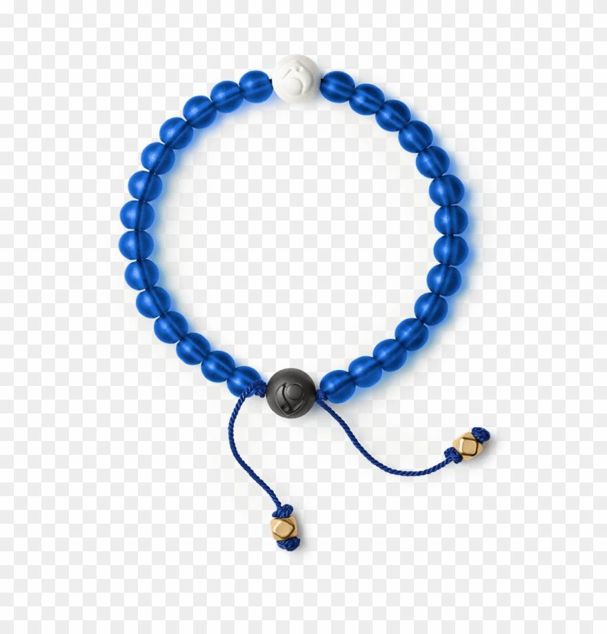 Glass Bead Bracelet.