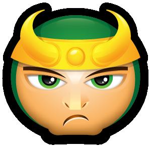 Loki icon.