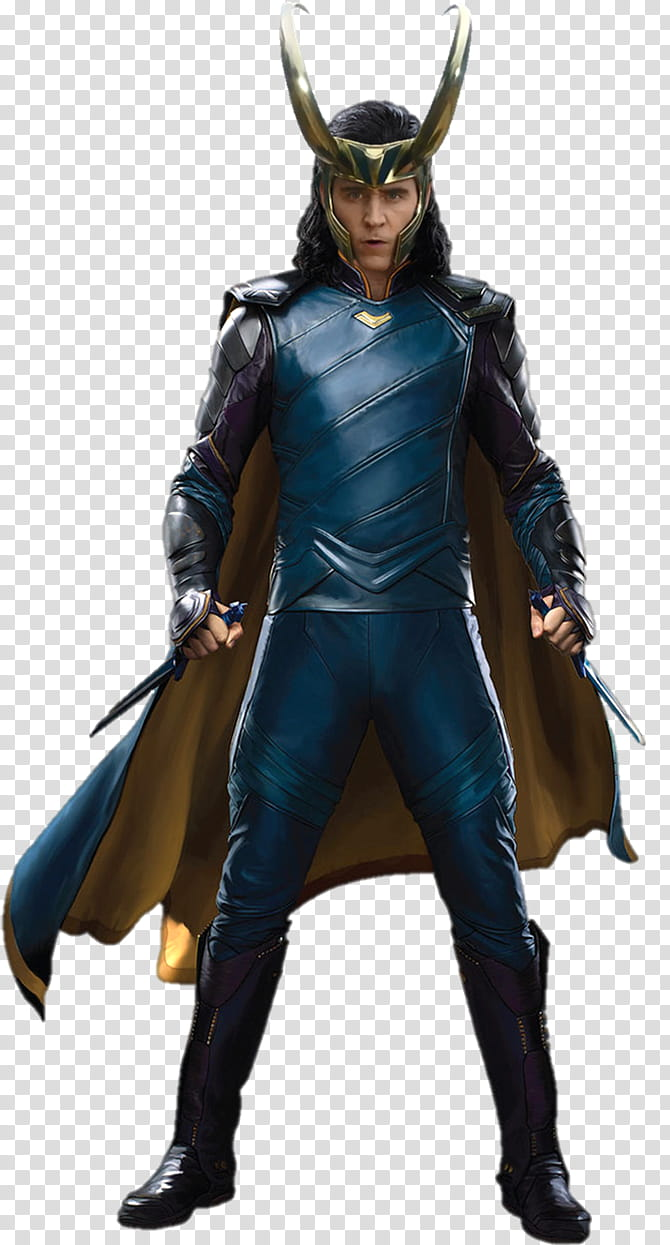 Loki Laufeyson Thor Ragnarok transparent background PNG.