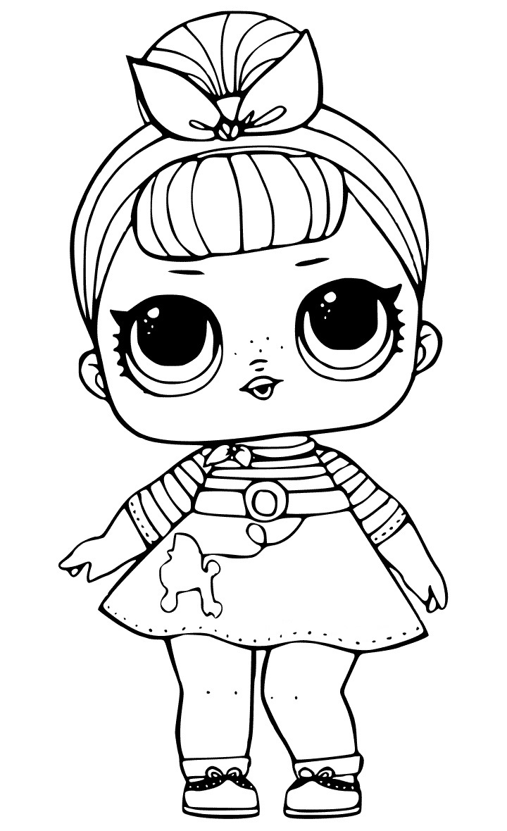 Snow Bunny Lol Coloring Pages.