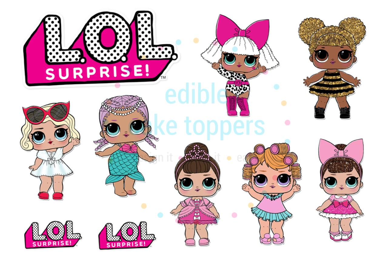 LOL Surprise Dolls CUT.
