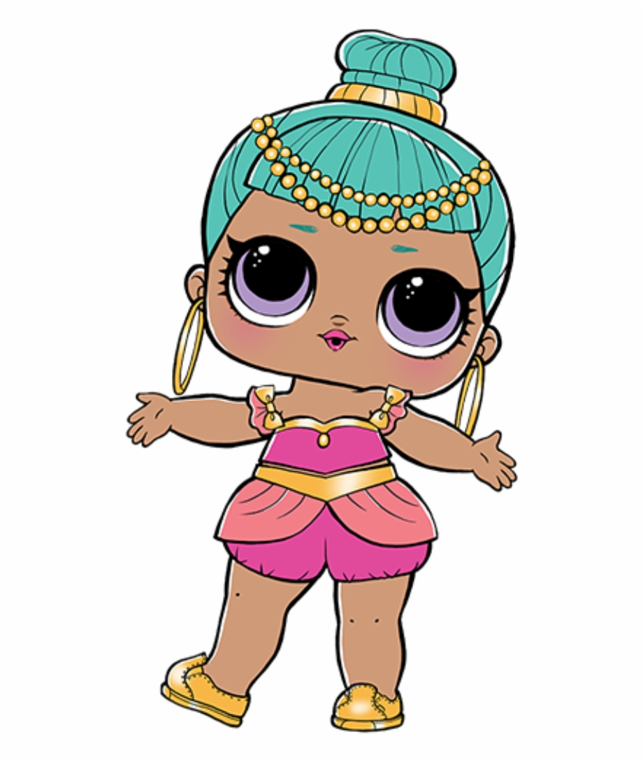 Genie Lol Doll Free PNG Images & Clipart Download #108423.