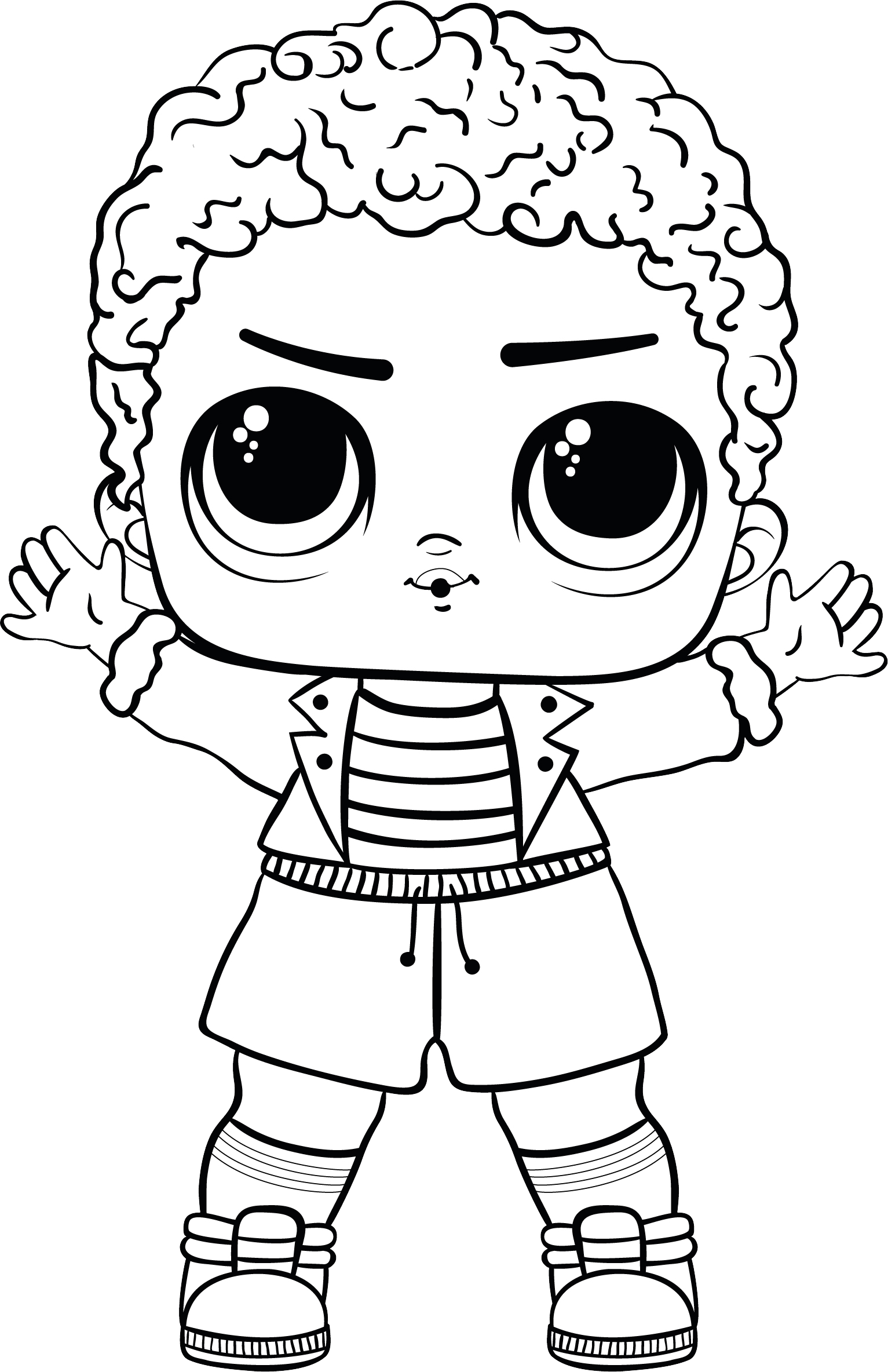L.O.L. Surprise! doll PNG.