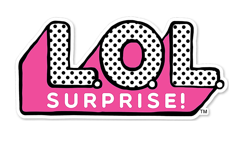 LOL surprise logo Cake Topper 5\