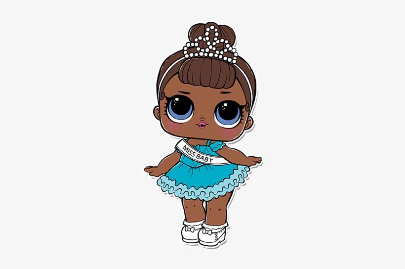 Lol Surprise Doll Printables PNG Image.
