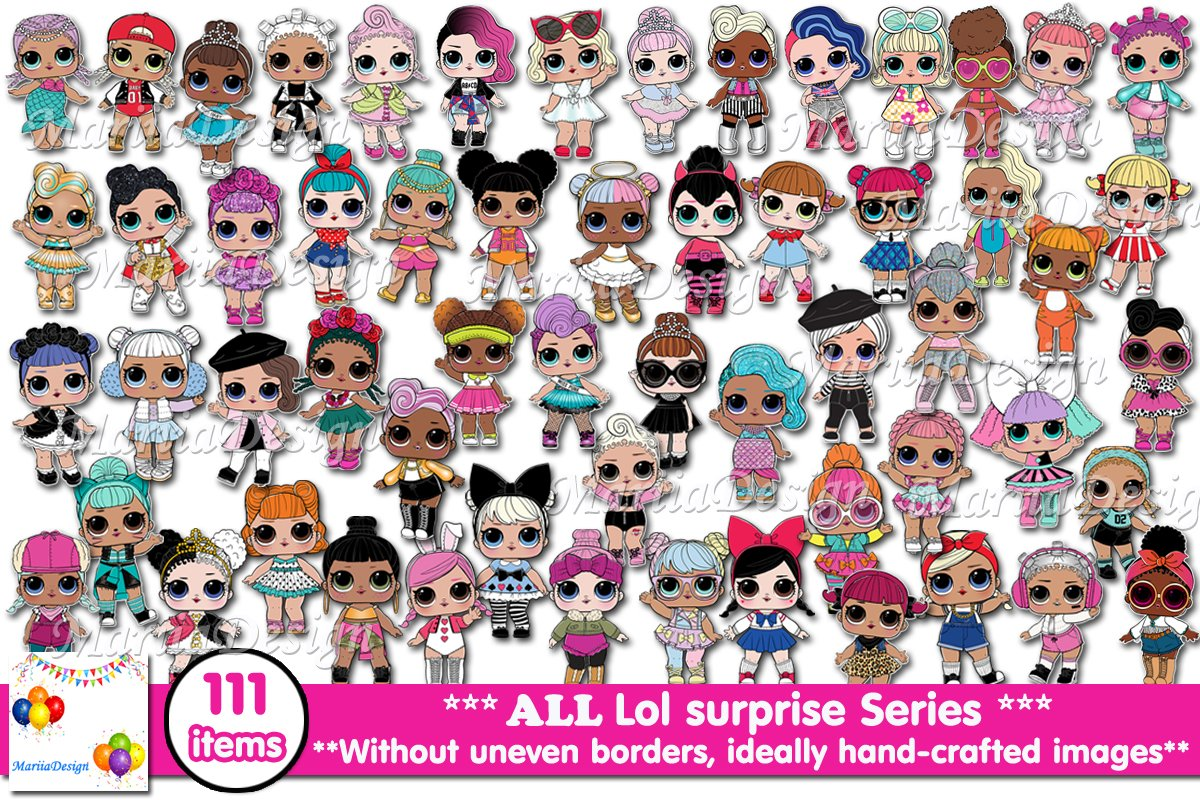 L.o.l Surprise Clipart.