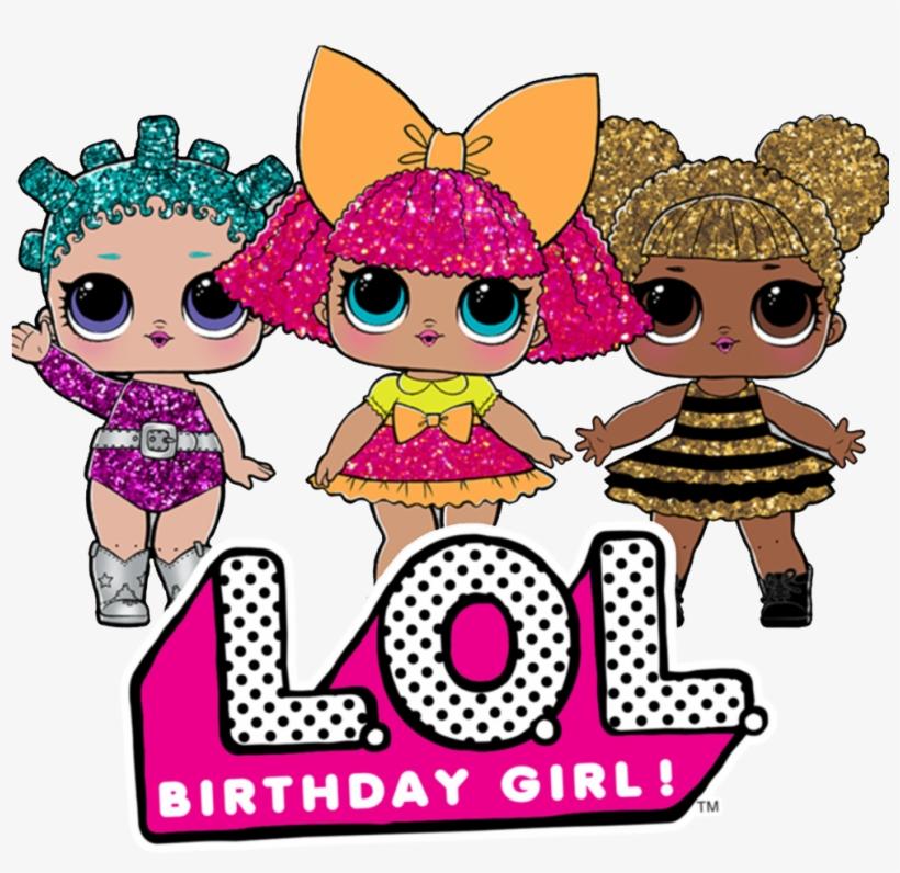 Custom Lol Surprise Dolls Birthday Girl T.