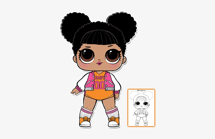 Lol Dolls Clipart At Getdrawings Com Free.