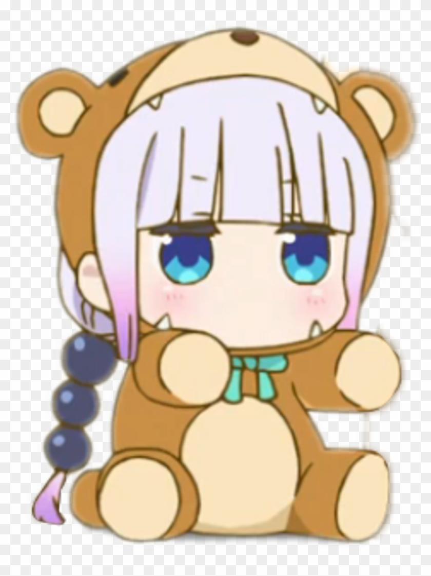 Anime Loli Bear , Png Download.