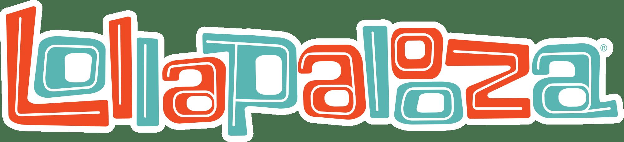 Lollapalooza Logo transparent PNG.