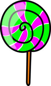 Lolli Swirl Pop Clip Art at Clker.com.