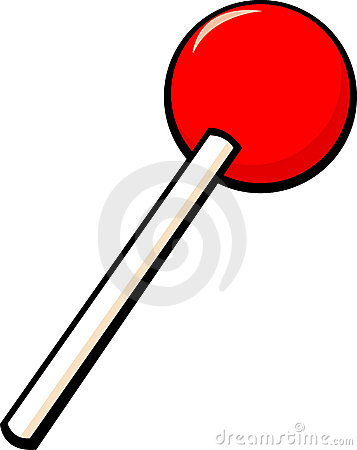 Lollipop Candy Vector Illustration Royalty Free Stock Photo.