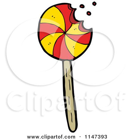 Cartoon of a Lolli Pop.