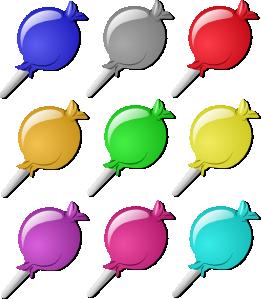 Lollipops Clip Art at Clker.com.