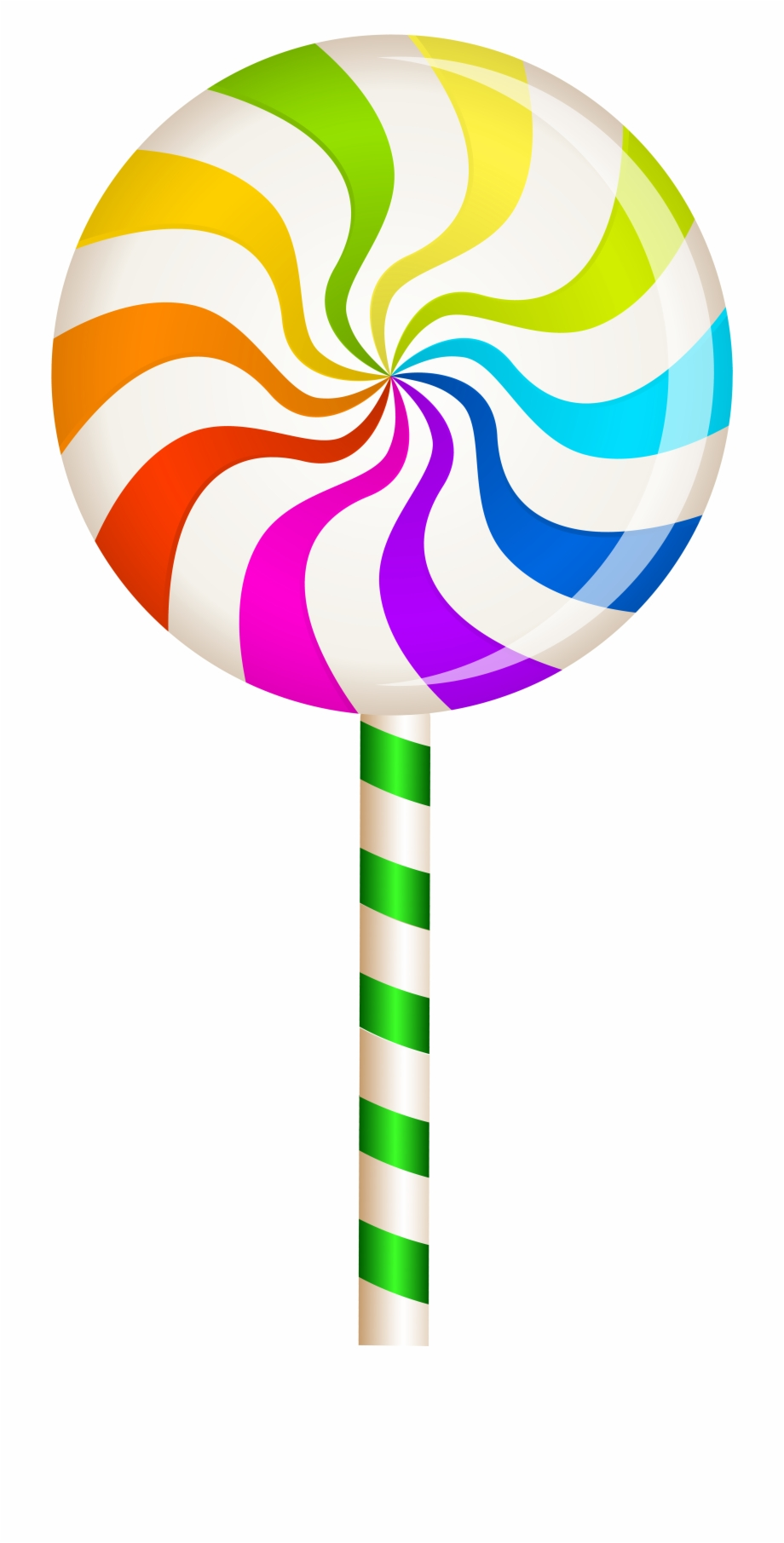 28 Collection Of Christmas Lollipops Clipart.