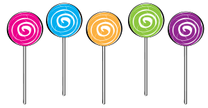 Lollipop Clipart.