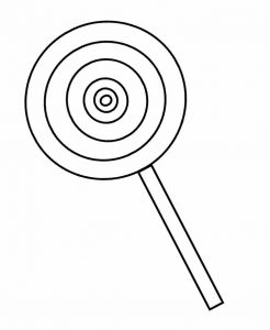 Lollipop clipart black and white » Clipart Station.