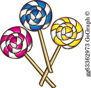 Lollipop Clip Art.