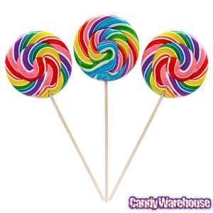 Swirl Lollipops Clipart.