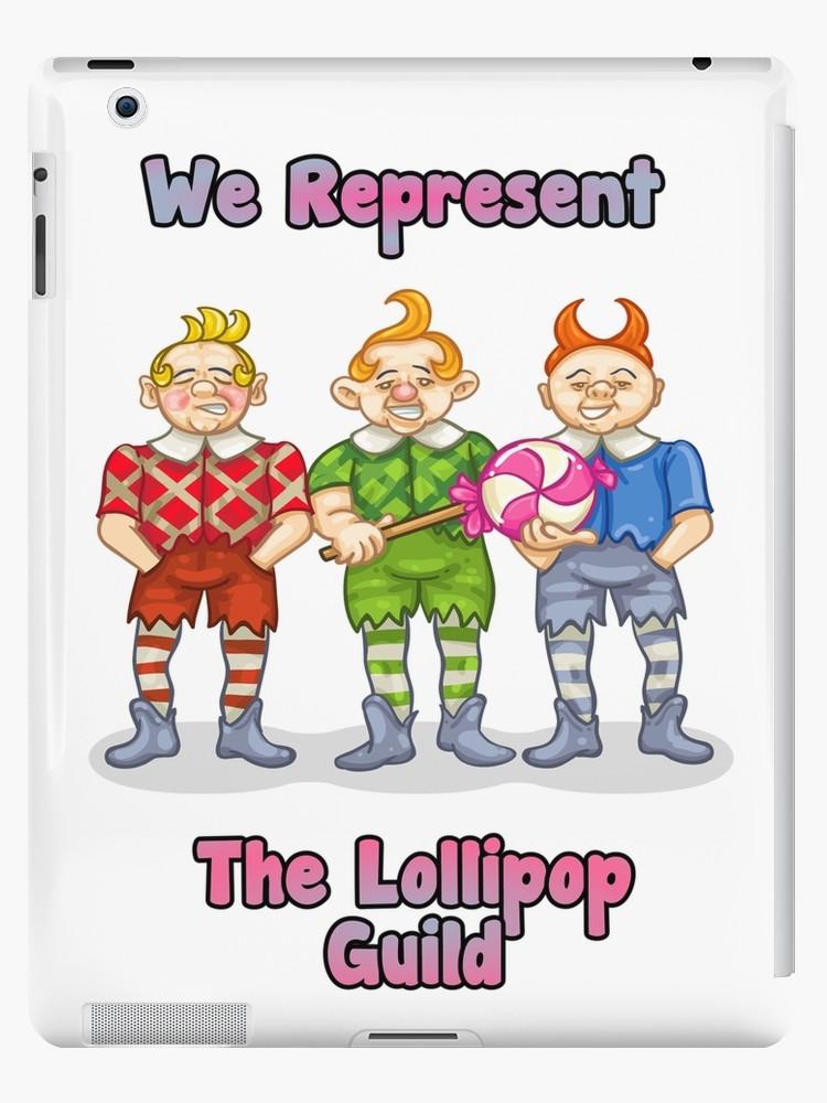 'Lollipop Guild' iPad Case/Skin by Specialstace83.