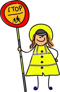 Great Lollipop Lady Cartoon.
