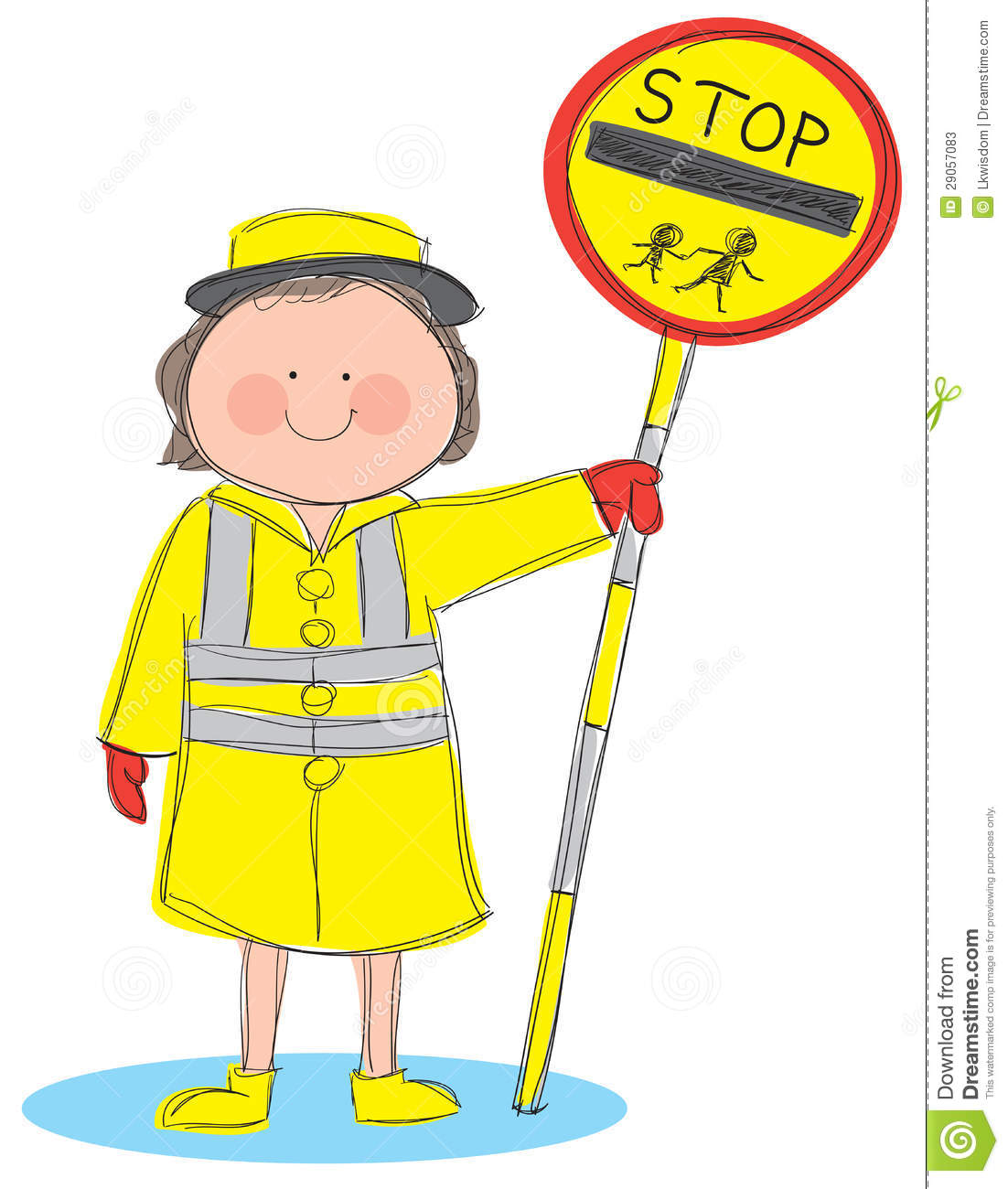 Lollipop lady clipart » Clipart Station.