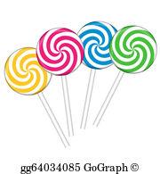 Lollipops Clip Art.