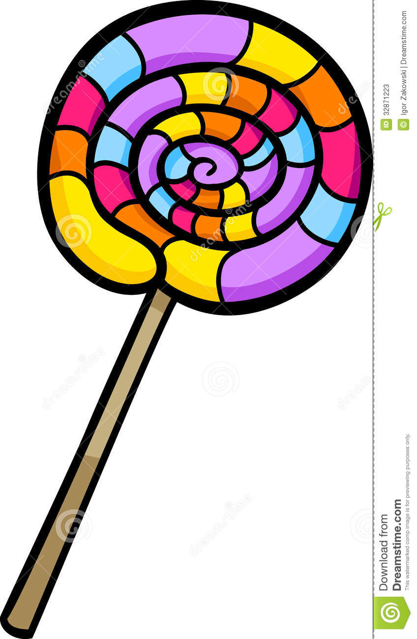 Ice Lolly Clip Art.