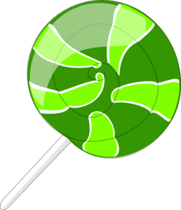 Green Lollipop Clip Art at Clker.com.